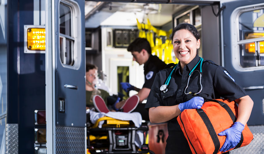 Female EMT