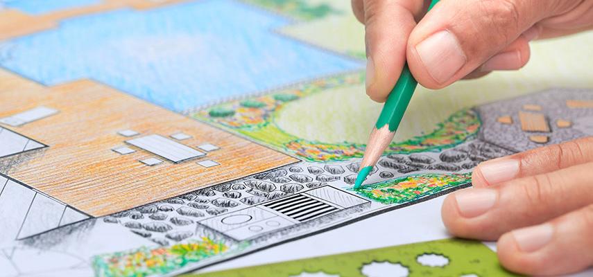 Landscape designs.