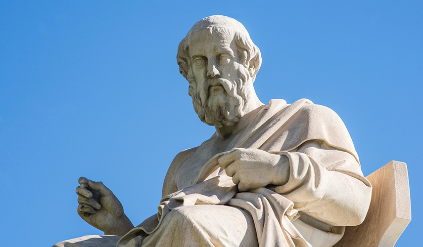 Sculpture of Plato found in Athens