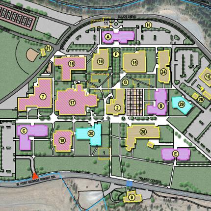 SFCC Master Plan Map