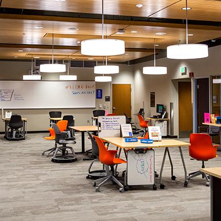 SCC tutoring center