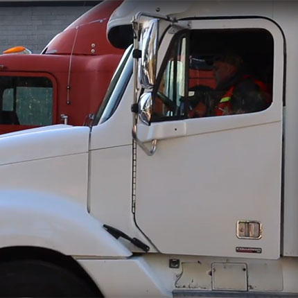 Truck driver training at SCC.