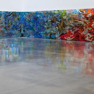 Visiting Artist exhibition piece