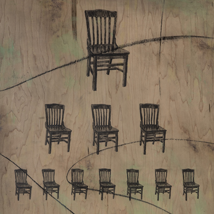 Marroquin Chairs art piece
