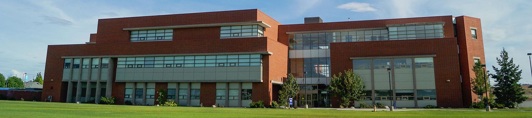 Livingston science building at SCC.