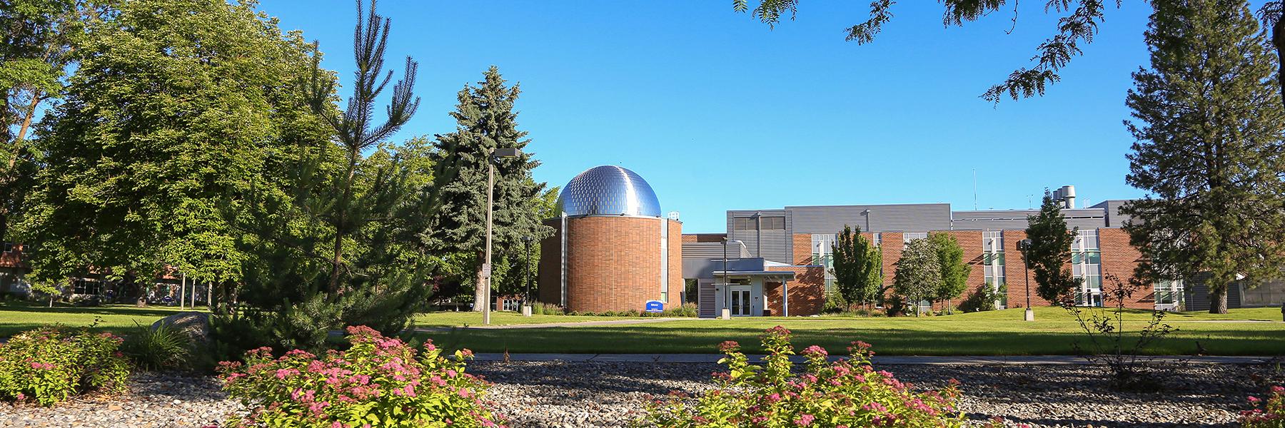 Planetarium in the summer