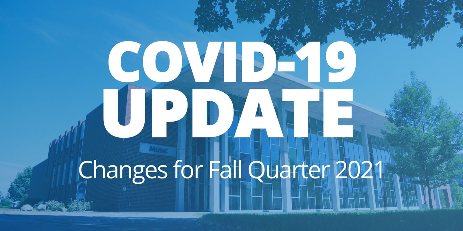 COVID 19 Update Changes for Fall Quarter 2021