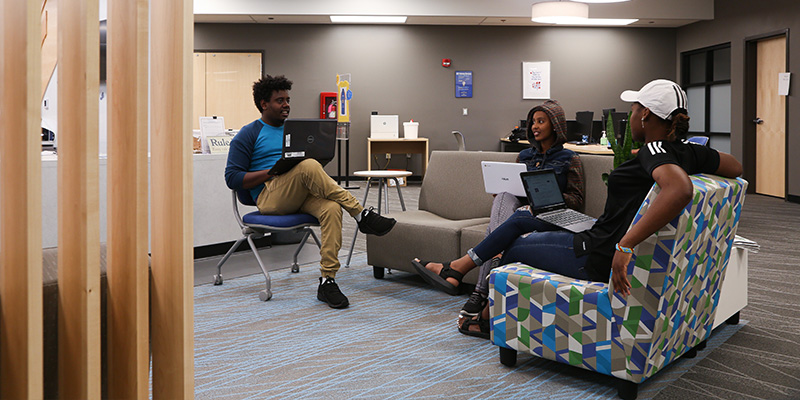 Students at the Center of Inclusion and Diversity