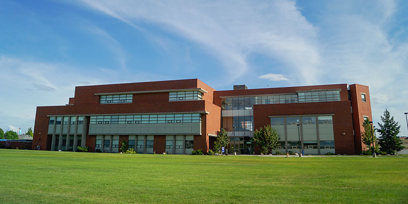 Science building on the SCC campus.