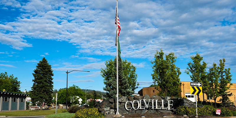 Colville City Sign