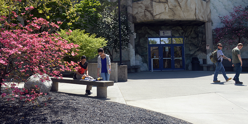 Building 1 entrance at SCC.
