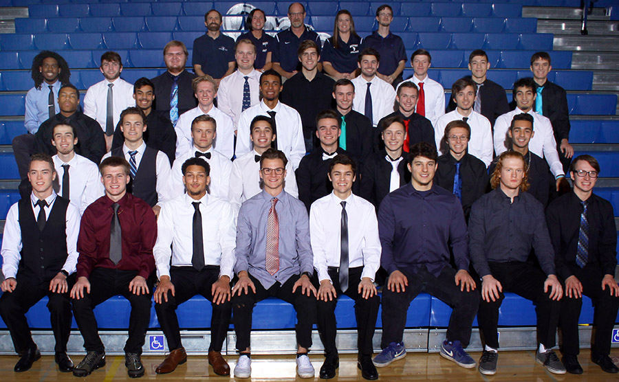 2018-19 Men's Track and Field Team Photo