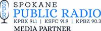 logo for Spokane Public Radio Media Partner