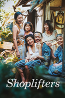 Film poster for Shoplifters