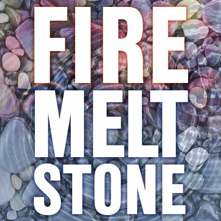 Dire Melt Stone Play Poster
