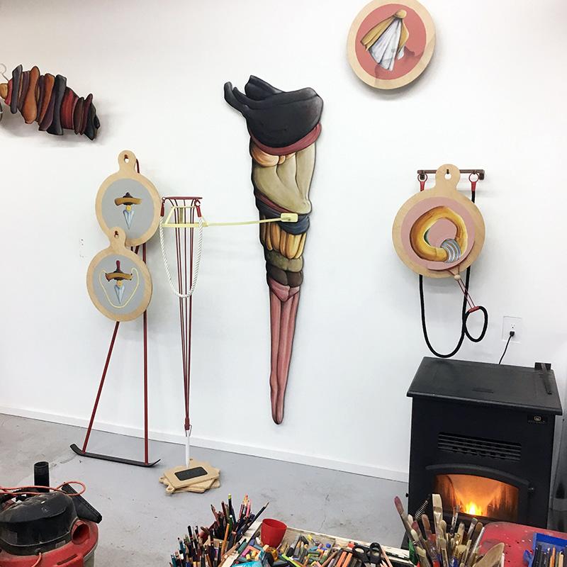 David Eckard Studio View