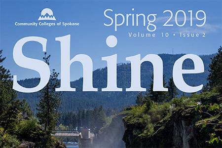 the Shine magazine cover image