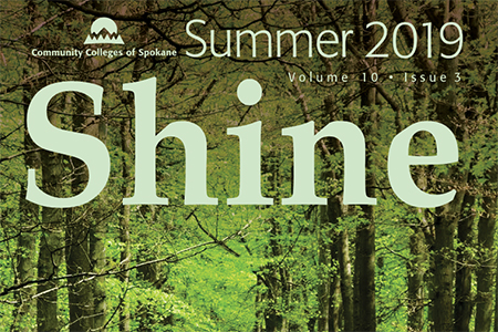 the Shine magazine cover image