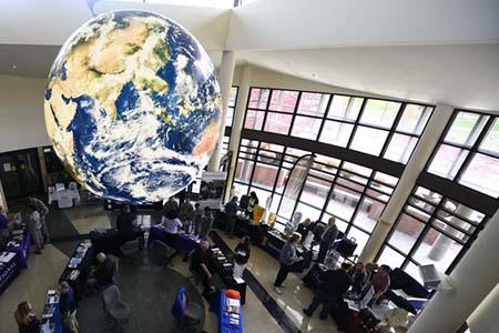Photo of interior of Fairchild Learning Center
