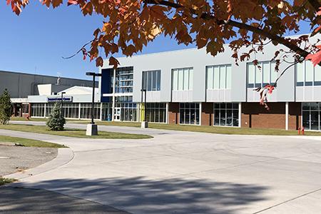 SFCC Extereior photo of the new gym
