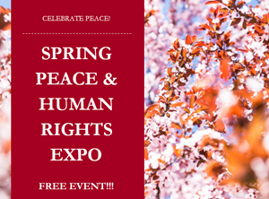 Spring Peace and Human Rights Expo Flier